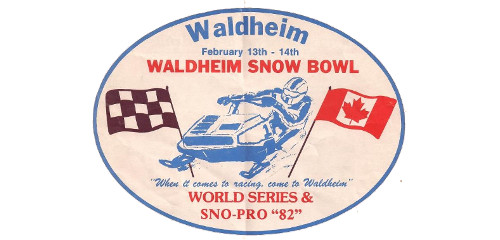 Visiting the Past – The Waldheim Snowmobile Races